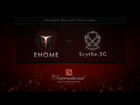 Scythe.SG - EHOME vs Scythe.SG The International day two winner bracket semifinal match between EHOME and Scythe.SG. Go to Dota2.com for full Gamescom schedule and results.
