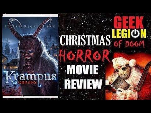 KRAMPUS ORIGINS ( 2018 Maria Olsen ) Christmas Horror Movie Review