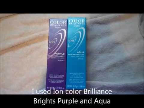 how to use ion color brilliance dye