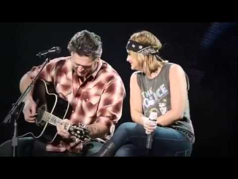 Blake Shelton & Miranda Lambert-God Gave Me You in Wichita.