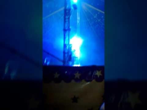 Bananinha no circo de Sahara em Piraquara