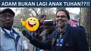 Download Video ADAM BUKAN LAGI ANAK TUHAN??!! - Hashim Vs Pendeta Kristen - Speakers Corner MP3 3GP MP4