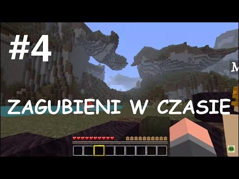 Minecraft - Zagubieni w czasie - #4 Gujg budowniczy i Dominos szybowy