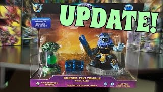 """Skylanders Imaginators: CURSED TIKI TEMPLE! (Update)► Hello and Welcome to Alpha Ambush my amazing Soldiers! Today, I """"show off"""" the Cursed Tiki Temple... then rant :)*Legend of Skylands: https://www.youtube.com/channel/UCkfIgeXa3oHUhyqU3F3nNVw► Check out the official Skylanders Imaginators website: https://www.skylanders.com/ :)======================================================Check me out on:► Instagram  - https://instagram.com/sensei_ambush - @Sensei_Ambush► Google+ - https://plus.google.com/u/0/ - Fire Fiesta► Facebook - https://www.facebook.com/profile.php?id=100011637317853 (Supercharger Fiesta)► Twitter - Coming Soon► Gamecenter(s) - Fire Fiesta! and Cute Platypus Perry =====================================================Don't forget to check out all my other Youtube channels:► FCGaming: https://www.youtube.com/channel/UCqrH...► Disney Channel Unofficial: https://www.youtube.com/channel/UCCrf...► Phineas Flynn: https://www.youtube.com/channel/UCRJJ...► Gamers Finest: https://www.youtube.com/channel/UC5Cd...=====================================================Thanks to all these people for contributing :)~*Music: Skylanders Music https://www.youtube.com/channel/UCF7hbJ8tHdfFt81k822QTvw=====================================================Check out some of my other videos:► Skylanders Imaginators: NEW SKYLANDERS RPG?! + MORE (Feat. PeriimeSkylanders): https://youtu.be/v9rsdqonGps► Addressing the current situation... (MARCH 2017 UPDATE): https://youtu.be/rUrUZKlplJA► Skylanders Imaginators: AMERICAN AMBUSH! (Custom Variant): https://youtu.be/Ihe5_avOU6c► Skylanders 2017 REALITY?! (+ Leaked Figure?!): https://youtu.be/k-4j9t18k8g► Skylanders Imaginators: WAVE FOUR RELEASE DATES! (Skylanders 2017 Decision + Heartbreaker Buckshot): https://youtu.be/8WWA1Id9JXg► SKYLANDERS IMAGINATORS! (Review): https://youtu.be/ql6pRFKG-v0► Will there be a SKYLANDERS SEVEN?! (Thoughts + Actual revenue): https://youtu.be/fCttoITlyco► Skylanders Imaginators: SENSEI SHRINES! (1-32"""