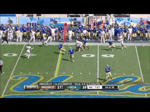 Anthony Barr vs Oregon St. 2012 video.