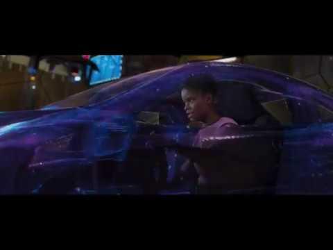 BLACK PANTHER Movie Clip Black panther vs Killmonger Hyperloop Fight Scene (2018)