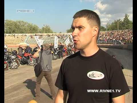 Рівненська команда спідвеїстів отримала новий мотоцикл просто на перегонах [ВІДЕО]
