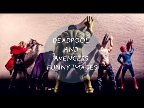 Deadpool  And  Avengers  Funny Images