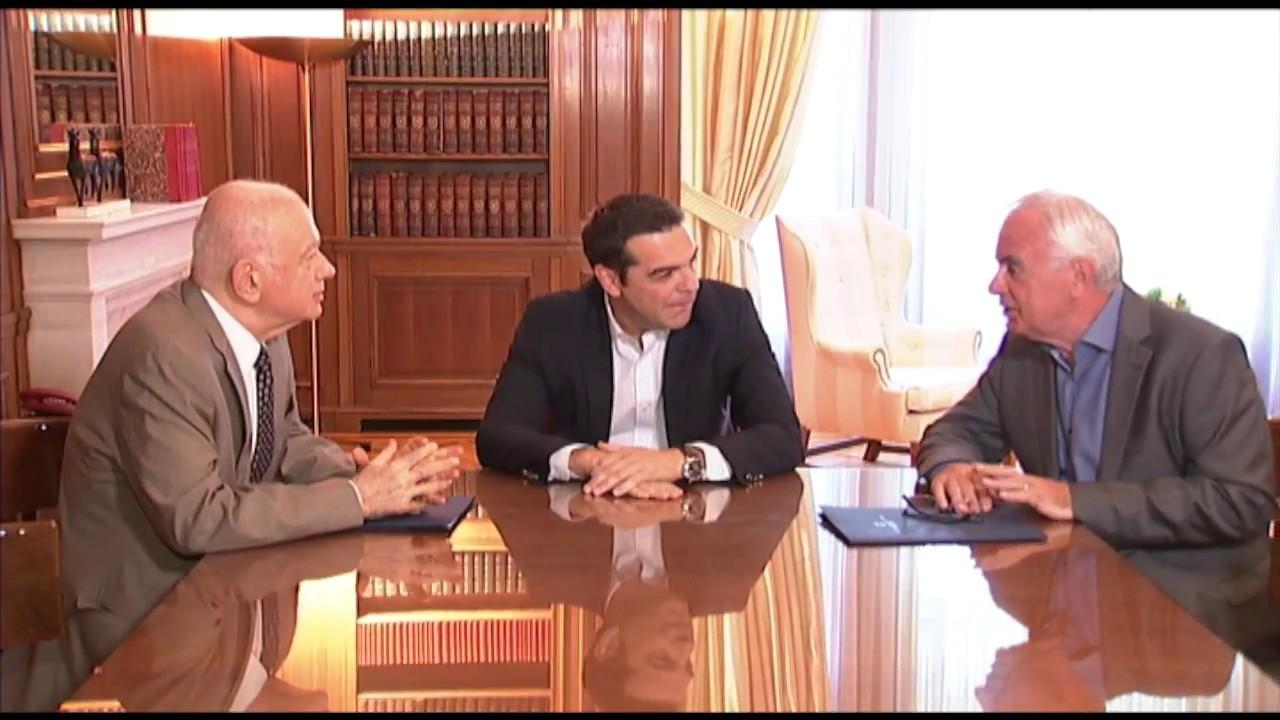 Συνάντηση με τον Υπουργό Οικονομίας και τον Υπουργό Αγροτικής Ανάπτυξης