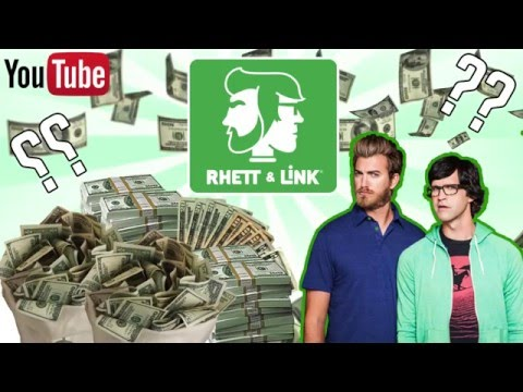 HOW MUCH MONEY DO RHETT AND LINK MAKE 2016 (GOOD MYTHICAL MORNING)