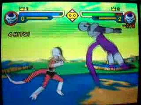 Kuriza VS Cooler Dragon Ball Z V2