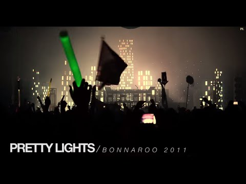 Pretty Lights Music - Video recap of Pretty Lights at Bonnaroo 2011, edited to the unreleased Pretty Lights' track