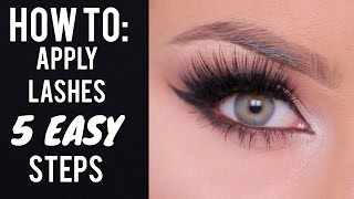 HOW TO: Apply False Lashes in 5 Steps by Chrisspy