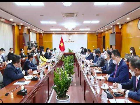 Tăng cường quan hệ hợp tác Việt Nam – Hàn Quốc trong lĩnh vực thương mại, công nghiệp và năng lượng