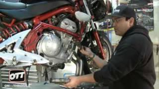 7. Leo Vince Install- Kawasaki Ninja 650r part1