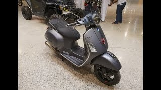 3. 2018 Vespa GTS Super Sport 300 Review $7k Scooter