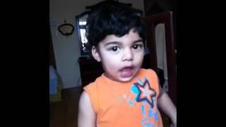 Hadis Showing His Eyes Ears Etc..