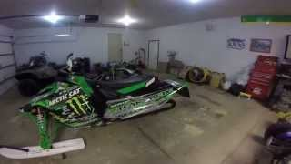1. SICK 2012 Arctic Cat snopro 500 review