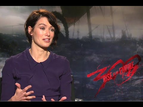 Lena Headey Interview - 300: Rise of an Empire (2014) JoBlo.com HD