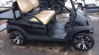9. ~ The Golf Cart Guy ~ 2013 Club Car Precedent Custom Gas Golf Cart- CUSTOMER VIDEO DEMO