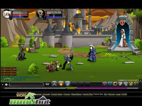 Adventure Quest Worlds Gameplay Footage