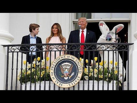 Πρώτο Πάσχα για τον Ντόναλντ Τραμπ στον Λευκό Οίκο