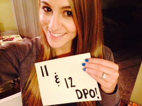 11 and 12 DPO TTC Baby #1 and uterus pain!