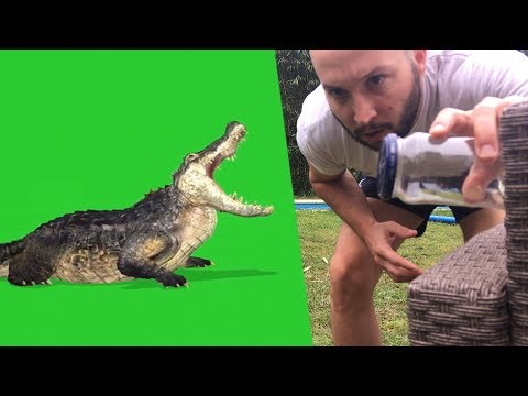 Green Screen Chroma Key Tutorial And Video Tricks Editing #1