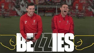 Download Video BEZZIES with Milner and Robertson | 'I had to phone my Dad for one of the answers' MP3 3GP MP4
