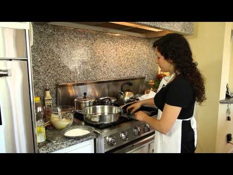 Mexican Recipe: How to Make a Healthy Cheese Chile Rellenos in Tomato Sauce