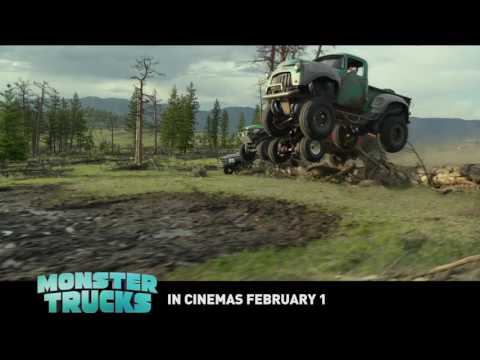 "Lucas Till finds a most unlikely friend in ""Monster Trucks"""