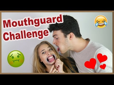 Video MOUTHGUARD CHALLENGE! Ft. Milán download in MP3, 3GP, MP4, WEBM, AVI, FLV January 2017