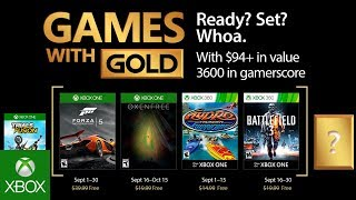 Games With Gold di settembre
