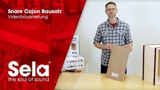 Snare Cajon Bausatz / Medium