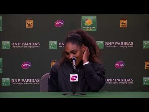 BNP Paribas Open 2018: Serena Williams 3R Press Conference