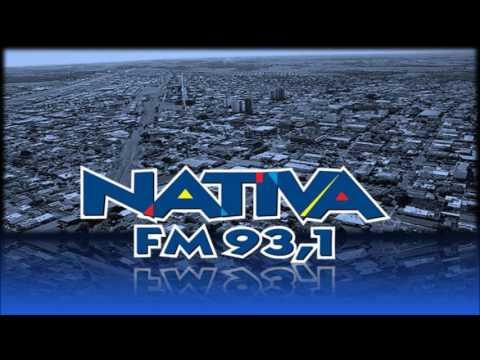 Prefixo - Nativa FM - 93,1 MHz - Dolcinópolis-Jales/SP