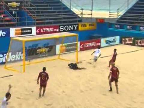 Paraguay Vs Venezuela - Futbol Playa 2011 - Eliminatorias