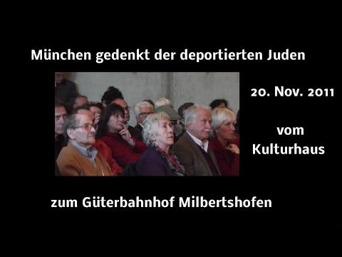 Zeitzeugen Werner und Ernst Grube - Kulturhaus-+Güterbahnhof Milbertshofen 20.11.2011