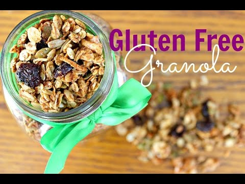 Healthy Gluten Free Granola | Vegan Recipes