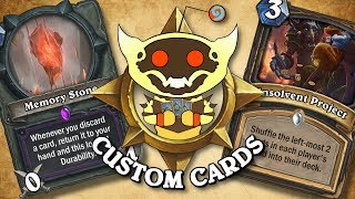 TOP CUSTOM CARDS OF THE WEEK #22 | Card Review | Hearthstone