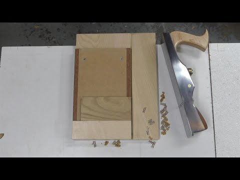 Make a shooting board