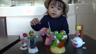McDonald's Happy Meal SuperMario - Hunt for Princess Peach & Yoshi | Baby Playful