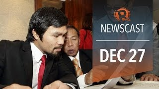 Rappler Newscast: Pacquiao's Wealth Thailand Military To Secure Feb Polls, Worst US Congress