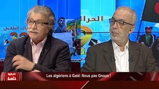 Les algériens à Gaid: Nous pas Gnous !