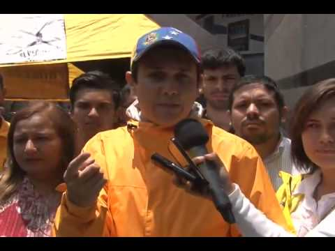 Jesús Armas: Seguiremos en las calles hasta lograr los cambios planteados en la Mesa de Diálogo