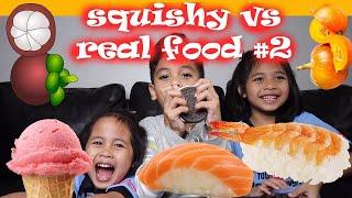 Video SQUISHY vs REAL FOOD CHALLENGE Part 2 | TheRempongsHD MP3, 3GP, MP4, WEBM, AVI, FLV Juni 2019
