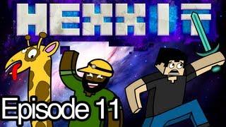 Minecraft HEXXIT Ep.11 - Crashing A Castle!
