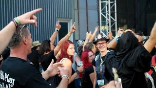 Video Masters of Rock, 13.7.2017, Ocelot: Pekelnej stroj