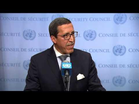 Video: Hilale Explains Morocco's Position after UNSC Resolution