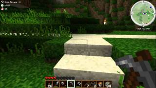 Minecraft: The Survival Project #12 Panoramic Fly Around&My Pet Zombie!